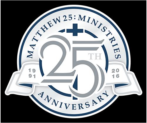 m25m 25th anniversary matthew 25 ministries matthew 25 ministries rh m25m org 25th Work Anniversary Clip Art 25th Wedding Anniversary Clip Art